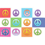 Peace Signs Collage