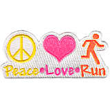 Peace, Love, Run - Neon