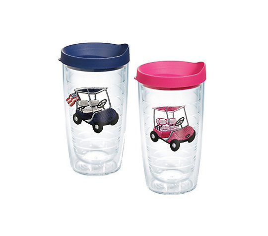 His and Hers Golf Carts 2-Pack Gift Set