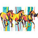 Watercolor Horses