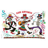 Texas - San Antonio Mexican Skeletons