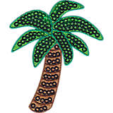 Sequin Palm Tree