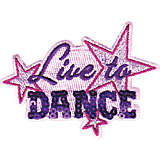 Live to Dance Sequin