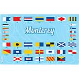 California - Nautical Flag Monterey