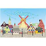 California  - Solvang Pin Wheels