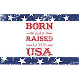 Born and Raised in the USA