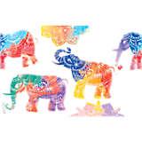 Mehndi Elephants