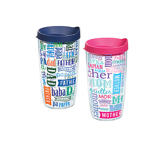 Mom and Dad in Different Languages 2-Pack Gift Set