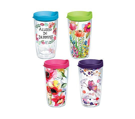 Floral Watercolor 4-Pack Gift Set