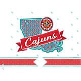 Louisiana Lafayette Ragin' Cajuns