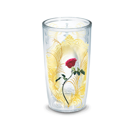 Disney Beauty And The Beast Rose Wrap Tervis Official