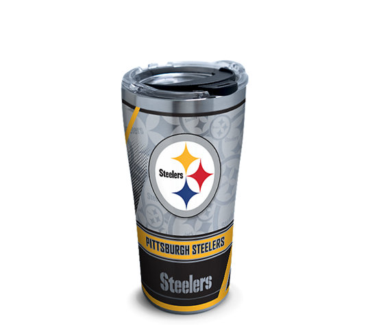 Nfl 174 Stainless Steel Tumbler Pittsburgh Steelers Edge