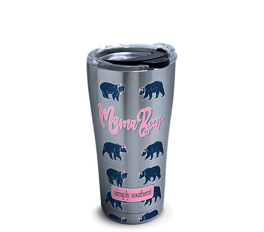 Stainless Steel Tumbler Simply Southern 174 Mama Bear With