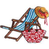 Beach Chair Teal