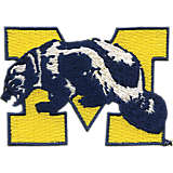 Michigan Wolverines College Vault Logo