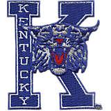 Kentucky Wildcats College Vault Logo