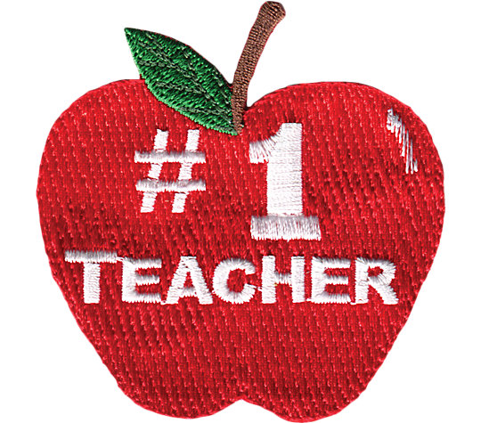 #1 Teacher - Apple image number 1