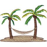 Palm and Hammock Design
