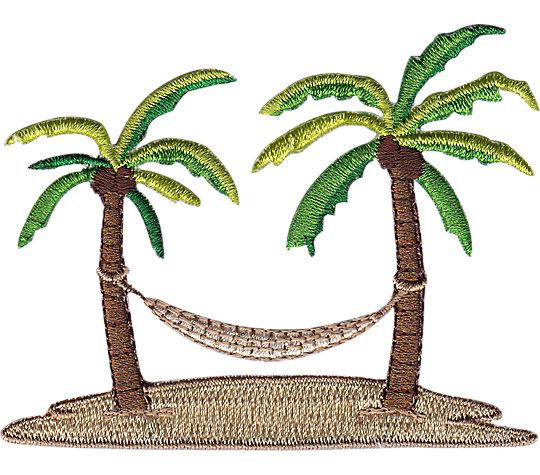 Palm and Hammock Design image number 1