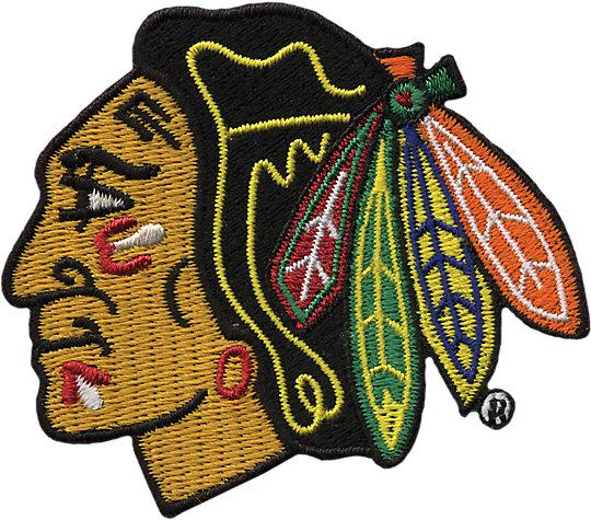 NHL® Chicago Blackhawks® Primary Logo image number 1