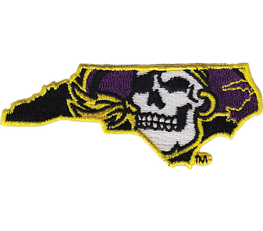 East Carolina Pirates Jolly Roger image number 1