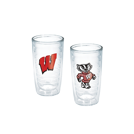Wisconsin Badgers Primary Logo and Bucky Badger