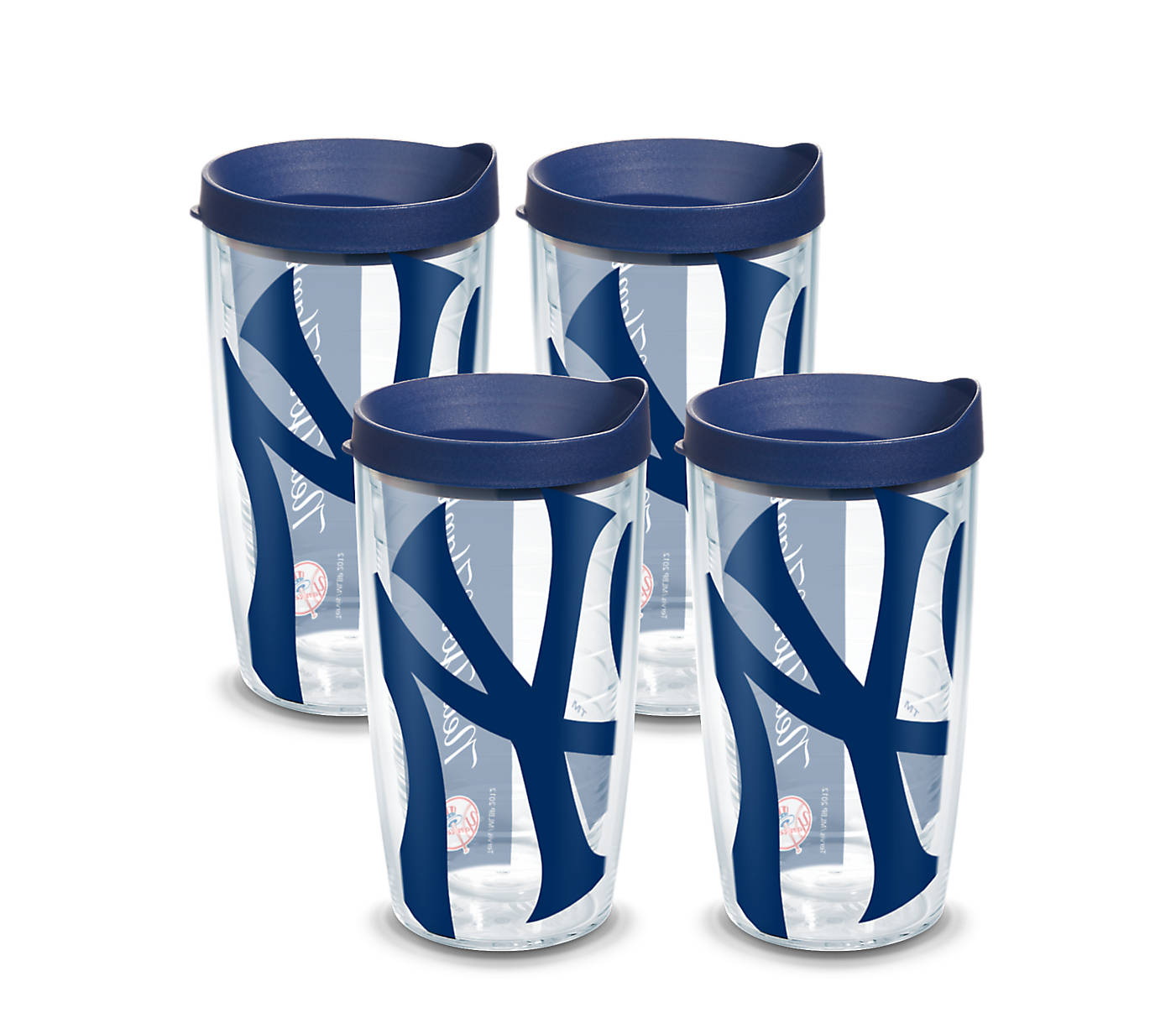 8ce44f60a MLB® New York Yankees™ Colossal Wrap With Travel Lid 4-Pack Gift Set ...