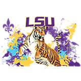 LSU Tigers Guy Harvey
