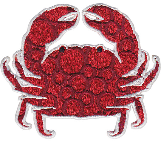 Red Crab Dots image number 1