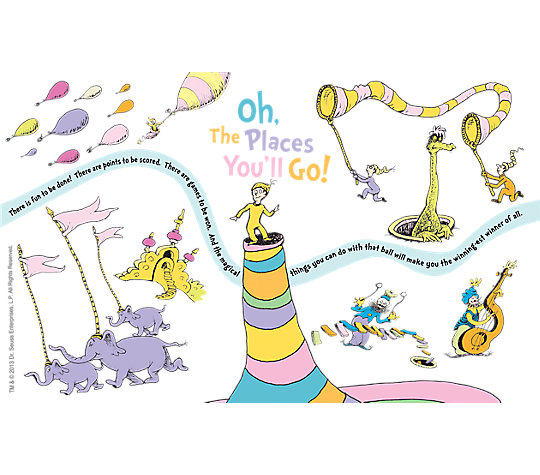 Dr. Seuss™ - Oh the Places You'll Go image number 1