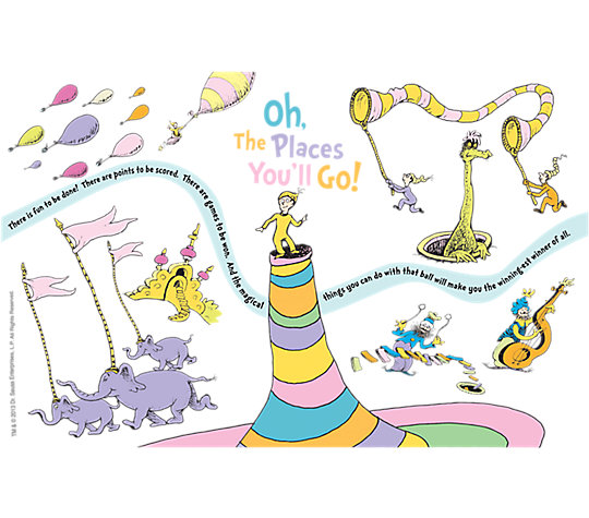 Dr. Seuss™ - Oh the Places You'll Go