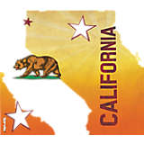 California State Flag Colossal