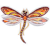 Shimmer Layered Orange Dragonfly
