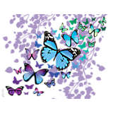 Blue Endless Butterfly