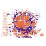 Clemson Tigers Splatter