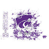 Kansas State Wildcats Splatter