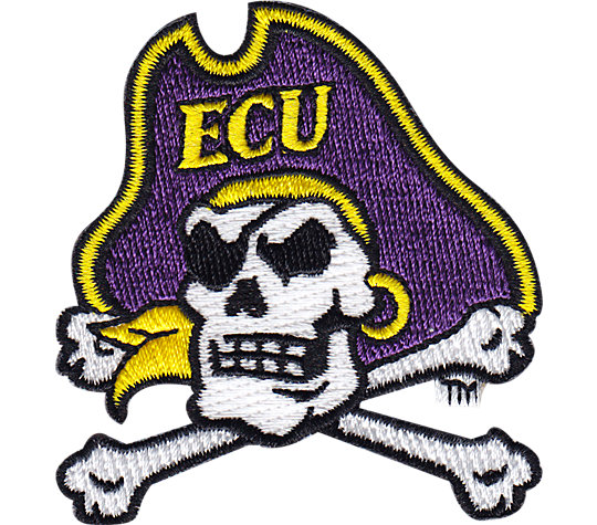 East Carolina Pirates Cross Bones Logo image number 1