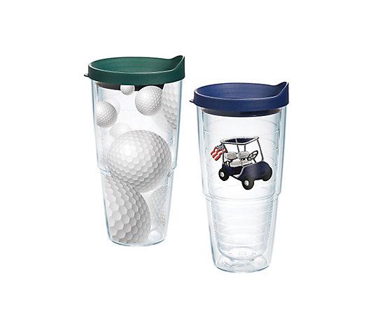 Golfing Enthusiast - Golf Balls & Cart