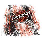 Harley Davidson Logo - Grunge