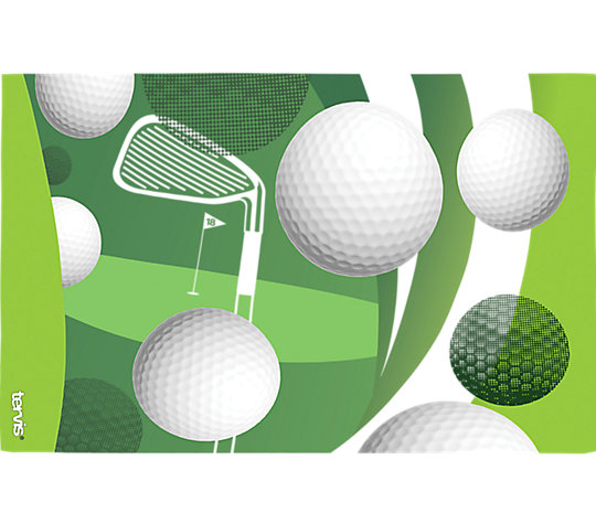 Golf Balls and Club image number 1