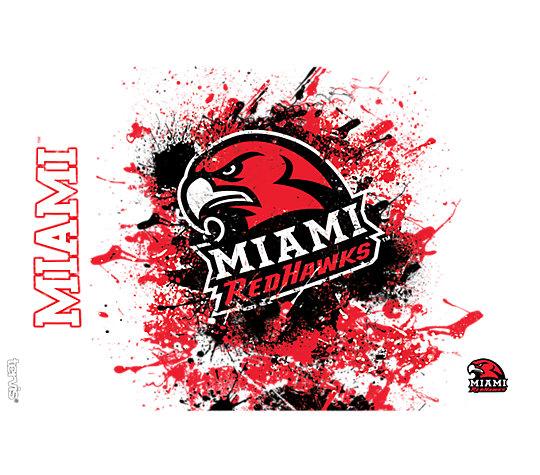 Miami University RedHawks Splatter