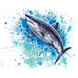 Guy Harvey® - Shark Splash