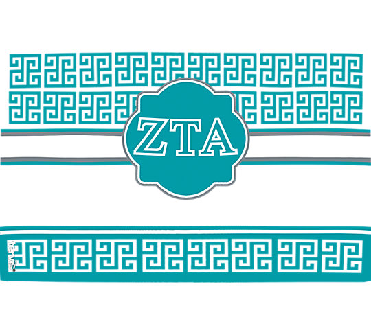 Fraternity - Zeta Tau Alpha Geometric image number 1