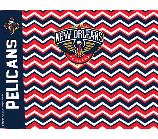 NBA® New Orleans Pelicans Chevron image number 1