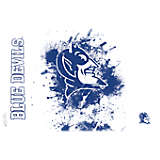 Duke Blue Devils Splatter