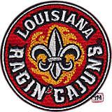 Louisiana Lafayette Ragin' Cajuns Logo