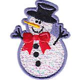 Confetti Snowman