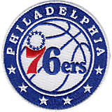 NBA® Philadelphia 76ers Circle With Stars