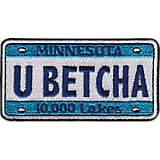 Minnesota - You Betcha License Plate