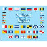 Maryland - Nautical Flag National Harbor